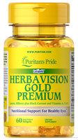Puritan's Pride Herbavision Gold Premium-60 Softgels