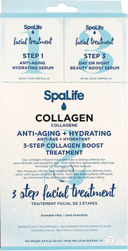 Spa Life SpaLife 3-Step Collagen Facial Treatment (Pack of 3)