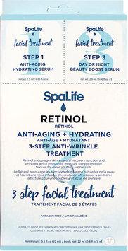 Spa Life SpaLife 3-Step Retinol Facial Treatment (Pack of 3)