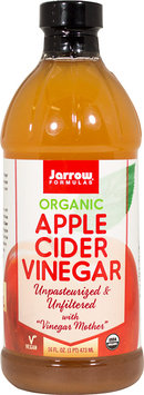 Organic Apple Cider Vinegar Jarrow Formulas 16 fl oz Liquid