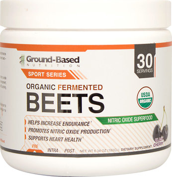 Ground-Based Nutrition Organic Fermented Beets-180 g Powder