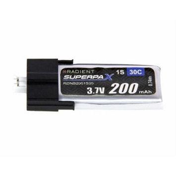 Radient RDNB2001S30 200MAH 1S 3.7 30C Battery UMX