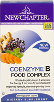 Coenzyme B Food Complex by New Chapter (60 Tablets)