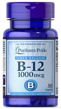 Puritan's Pride Vitamin B12 Trial Size-30 Caplets
