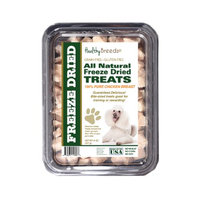 Healthy Breeds 840235146063 8 oz Poodle All Natural Freeze Dried Treats Chicken Breast