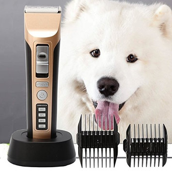 Professional Heavy Duty Pet Grooming Clippers Dog Clippers Pet Grooming Kit for Thick Hair Dogs, Cats and Horses …