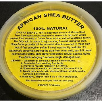 African Shea Butter 100% Natural From Ghana 8 oz.-