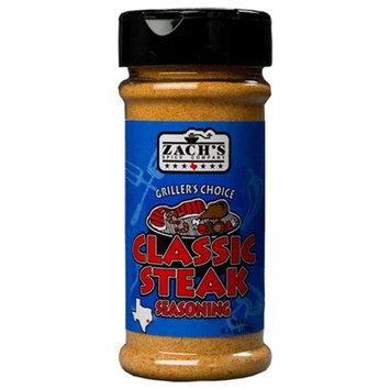 Zachs CLASSIC Steak Seasoning Grillers Choice 6.5 oz. - Pack of 3
