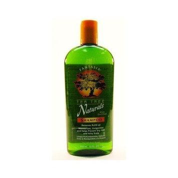 Fantasia Tea Tree Natural Shampoo 12 oz. (3-Pack) with Free Nail File
