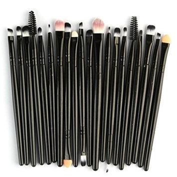 Vinjeely 20pcs/set Makeup Brush Set tools Make-up Toiletry Kit Wool Make Up Lip Foundation Powder Eyeshadow Smudge Brush