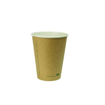 Vegware 12-Ounce Kraft Cup, 50-count Package
