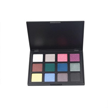 Eyeshadow, Hatop 12 Colors Cosmetic Makeup Eyeshadow Palette Pearl Matte Combination Naked Smoky