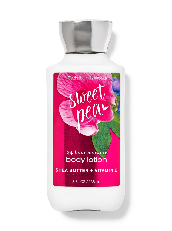 Bath & Body Works Sweet Pea Super Smooth Body Lotion