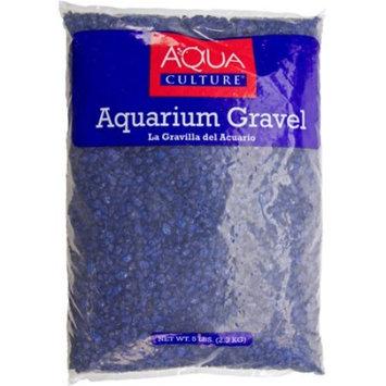 Aqua Culture Dark Blue Chips Aquarium Gravel, 5 lbs