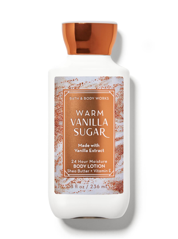 Bath & Body Works Warm Vanilla Sugar Super Smooth Body Lotion