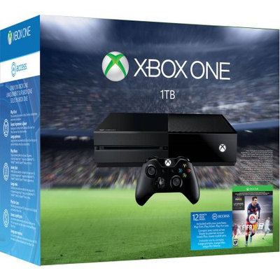 Microsoft Xbox One 1TB Console EA Sports FIFA 16 Limited Edition Bundle