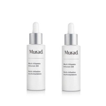 Murad Multi-Vitamin Infusion Oil ~ Mini Travel Size Duo ~ 0.2 fl oz total: Beauty
