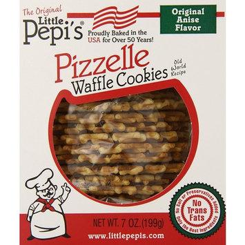 Little Pepi's Pizzelles, Anise, 7 Ounce [anise]