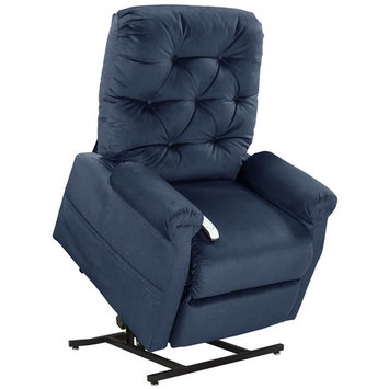 Mega Motion Classica Power Lift Chair Recliner- Navy (inside delivery and assembly)