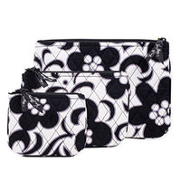 Vera Bradley Cosmetic Trio Bags (Night and Day)