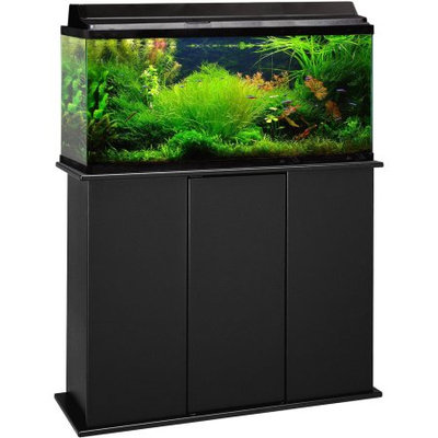 Marco 30-45 Gallon Upright Aquarium Stand, Black, 36301-01
