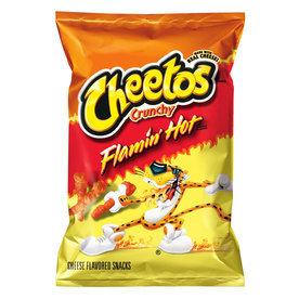 Pepsi 3.25-oz Cheetos Crunchy Flamin' Hot Cheese Puffs 115227