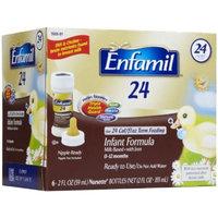 Enfamil 24 Infant Formula with Iron, Ready-to-use 2 oz Bottle - Case of 48