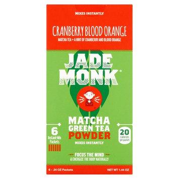 Jade Monk Cranberry Blood Orange Matcha Green Tea Powder, .24 oz, 6 count