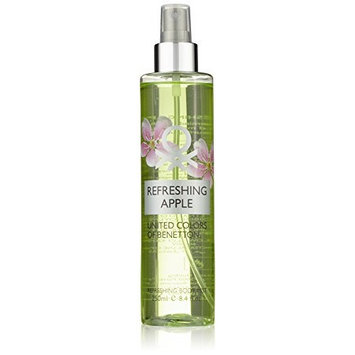 United Colors of Benetton Body Mist, Refreshing Apple, 8.4 Ounce