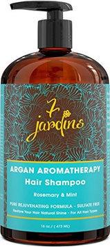 7 Jardins 100% Pure Essential Oil Blend Argan Rosemary & Mint Hair Shampoo 16 oz