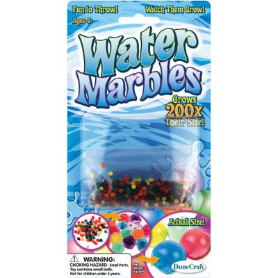 Dunecraft Jumbo Pack - More Than 3000 Colorful Water Marbles - Water Activated - Grow 200X