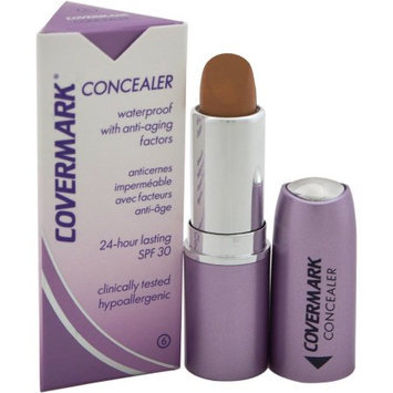 Concealer Waterproof with Anti-Aging Factors SPF 30 - # 6 by Covermark for Women - 0.18 oz Concealer