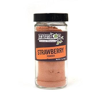 Strawberry Fruit Powder, 1.7 Oz Glass Jar