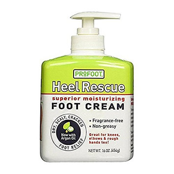Heel Rescue Cream Rapid Relief For Dry, Scaly, Cracked Heels, Feet, And More