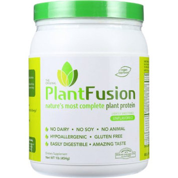 Plantfusion Protein Powder Unflavored, 1 LB