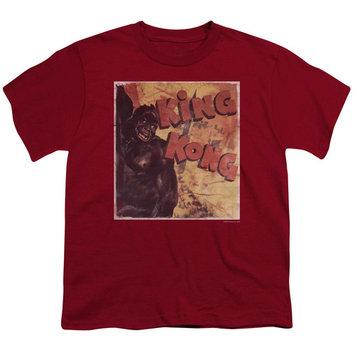 King Kong Primal Rage Big Boys Youth Shirt [clothing_size_type: clothing_size_type-regular]