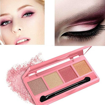RNTOP Four-Color Eyeshadow Beauiful Easy To Makeup Eye Shadow