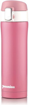Procizion Insulated Stainless Steel Thermos Bottle 16 Oz, Pink