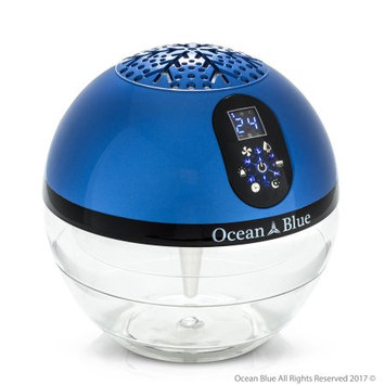OceanBlue Water Based Air Purifier Humidifier and Aromatherapy Diffuser with LED Screen
