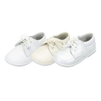 Baby Toddler Boys White Classic Saddle Style Dress Shoes Size 1-7