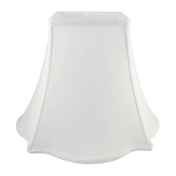 Square Lampshade in White