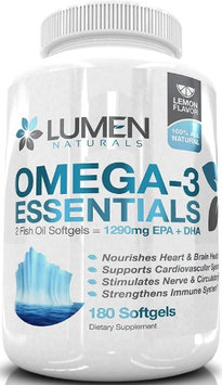 Lumen Naturals Fish Oil Omega 3 6 9 Concentrated to Support Heart Health - Improve Memory, Help Manage Cholesterol