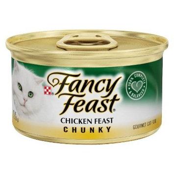 Purina Fancy Feast Chunky Chicken Feast Cat Food 3 oz. Can