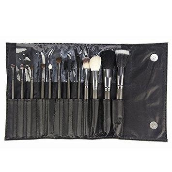 12PC. Gunmetal Brush Set