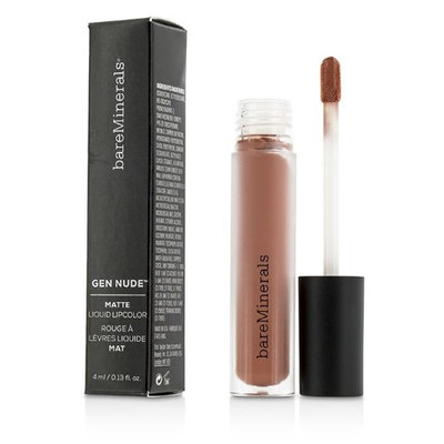 Bare Escentuals Bareminerals Gen Nude Matte Liquid Lipcolor Weekend 4Ml/0.13Oz