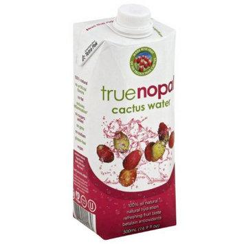 True Nopal Cactus Water, 16.9 fl oz, (Pack of 12)
