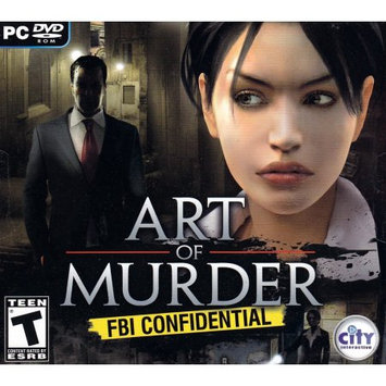 CITY interactive Art of Murder: FBI Confidential - Action/Adventure Game Jewel Case - CD-ROM - PC