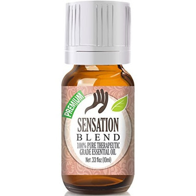 Healing Solutions - Sensation Blend Oil (10ml) 100% Pure, Best Therapeutic Grade Essential Oil - 10ml