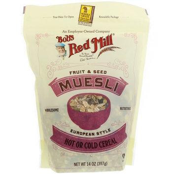 Bob's Red Mill, Muesli, Fruit & Seed, 14 oz (397 g) [Flavor : Fruit & Seed]