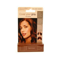 Cover Your Gray Hair Color Touch-up Stick - Dark Brown (Pack of 6)